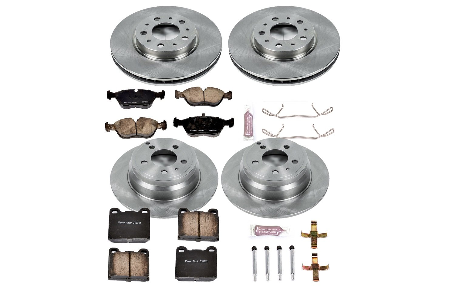 Autospecialty KOE2728 1-Click OE Replacement Brake Kit