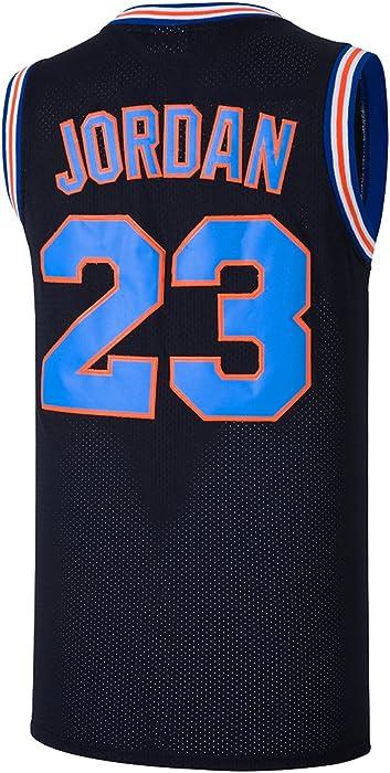 RAAVIN 23  Bunny Space Movie Jersey Mens Squad Basketball Jersey (Black 9e5ade1f22