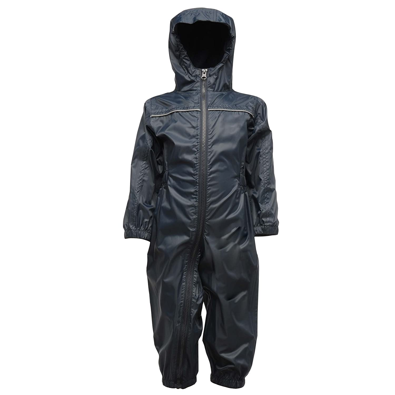 Regatta Professional Kids Paddle Waterproof /& Breathable Lightweight All-in-One Rain Suit with Safety Reflective Detail V/êtements de Pluie Gar/çon