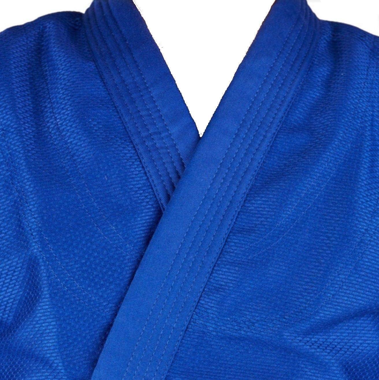 Aasta Azul Judo Gi//Traje con Libre cintur/ón 000//110