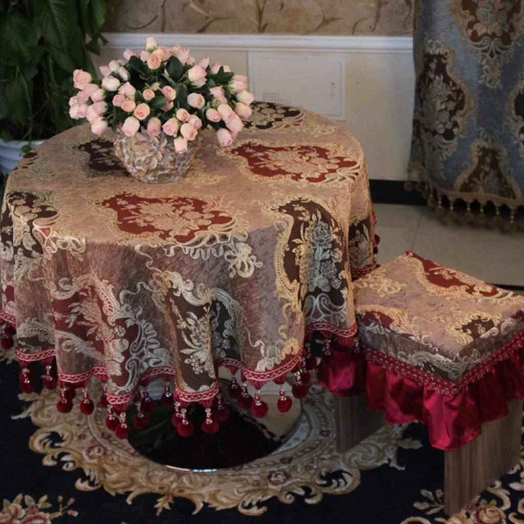 家の装飾布カバー ホームテーブルクロスダイニングテーブルクロスラウンドテーブルクロステーブルクロスラウンドティーテーブルクロス テーブルクロス   B07RT4ZP5F