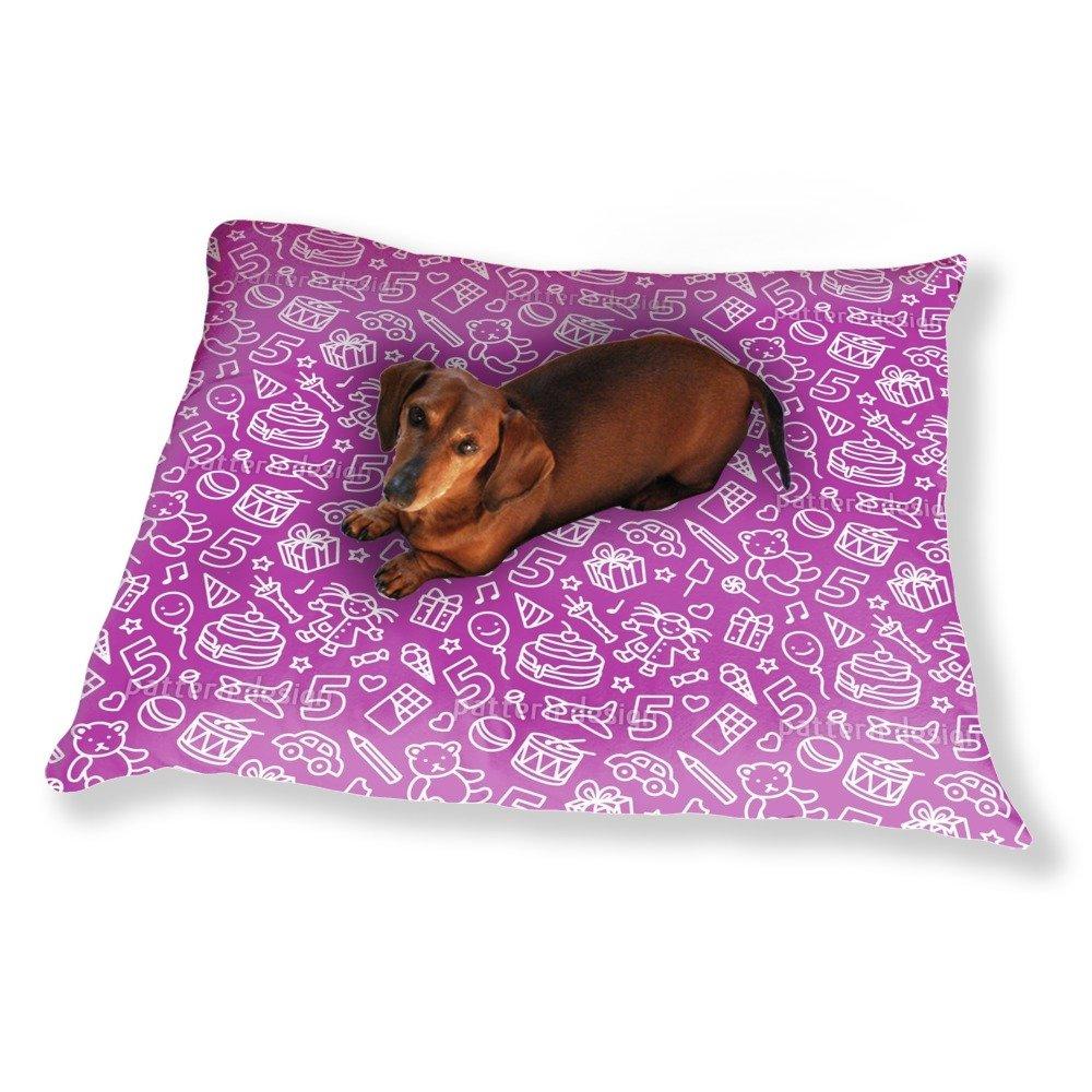 Kids Birthday Dog Pillow Luxury Dog / Cat Pet Bed