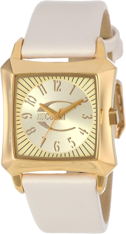 Just Cavalli Women s R7251106517 Blade Gold-Tone Stainless Steel Watch