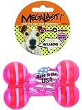 JW Pet Company Megalast Bone Dog Toy - Small 4 Inch x 3 Inch