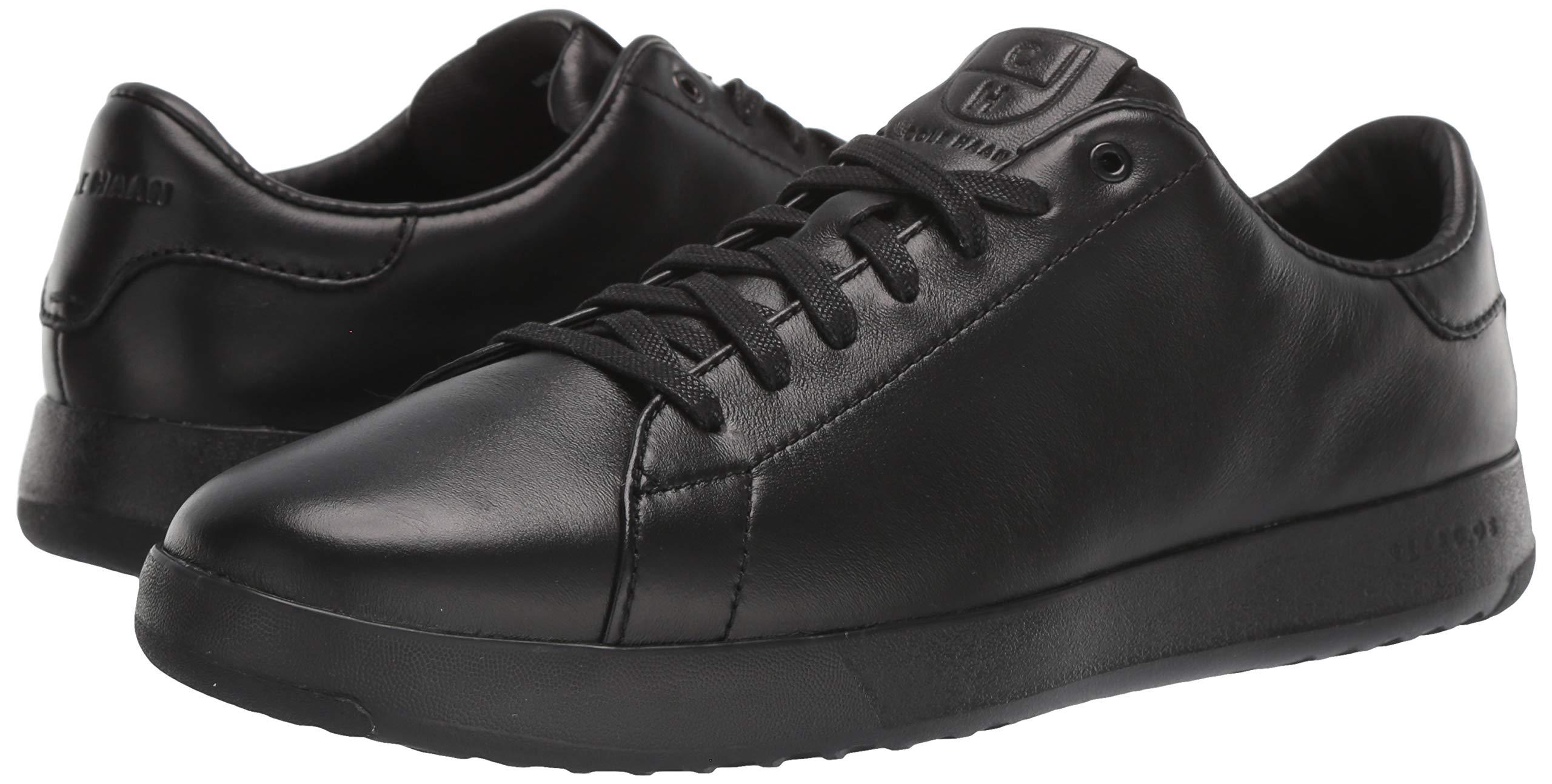 Cole Haan Men's Grandpro Tennis Fashion Sneaker, Black/British Tan, 7 M US by Cole Haan (Image #6)