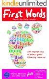 First Words: the first 300 words your child needs [Flash Cards for Phonics] (Phonics for Early Learners) (English Edition)