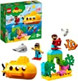 LEGO DUPLO Town Submarine Adventure 10910, Bath Toy for Toddlers, 2019