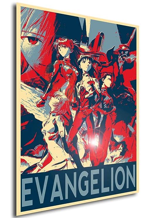 Instabuy Poster Propaganda - Evangelion - Personajes (Cartel ...