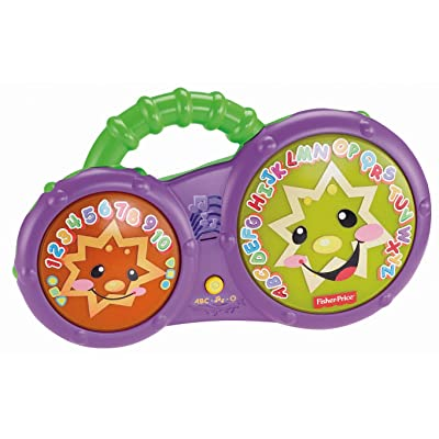 Fisher-Price Laugh & Learn Bathtime Bongos: Toys & Games