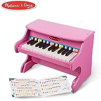 Melissa & Doug - Piano para aprender a tocar (25 teclas y libro de canciones), color rosa