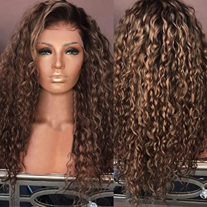 Amazon Com Hair Glueless Wig Kinky Curly Hair Wig Natural