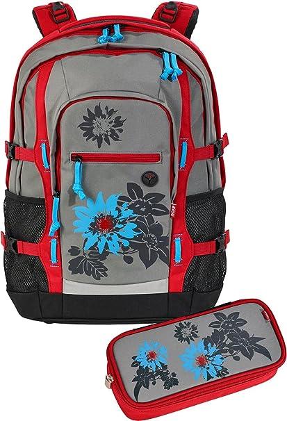 4YOU Basic – Set de mochila escolar, 2 piezas jampac 345 Garden 345 Garden