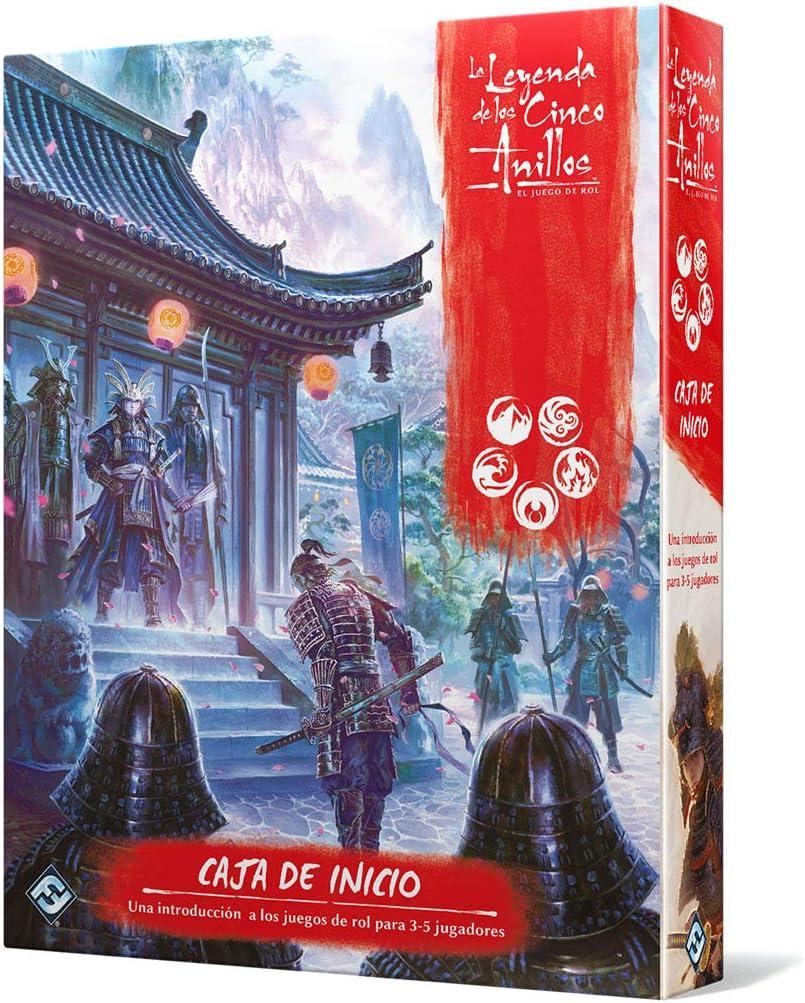 Fantasy Flight Games-La Leyenda de los Cinco Anillos Caja de ...