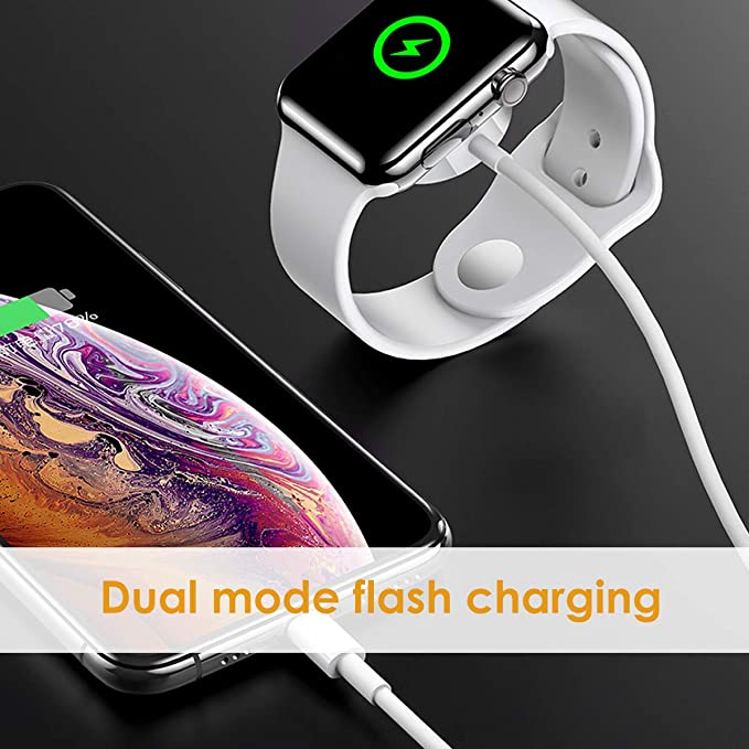 Amazon.com: WORDIMA Watch Charger Magnetic Cable for iWatch4 ...