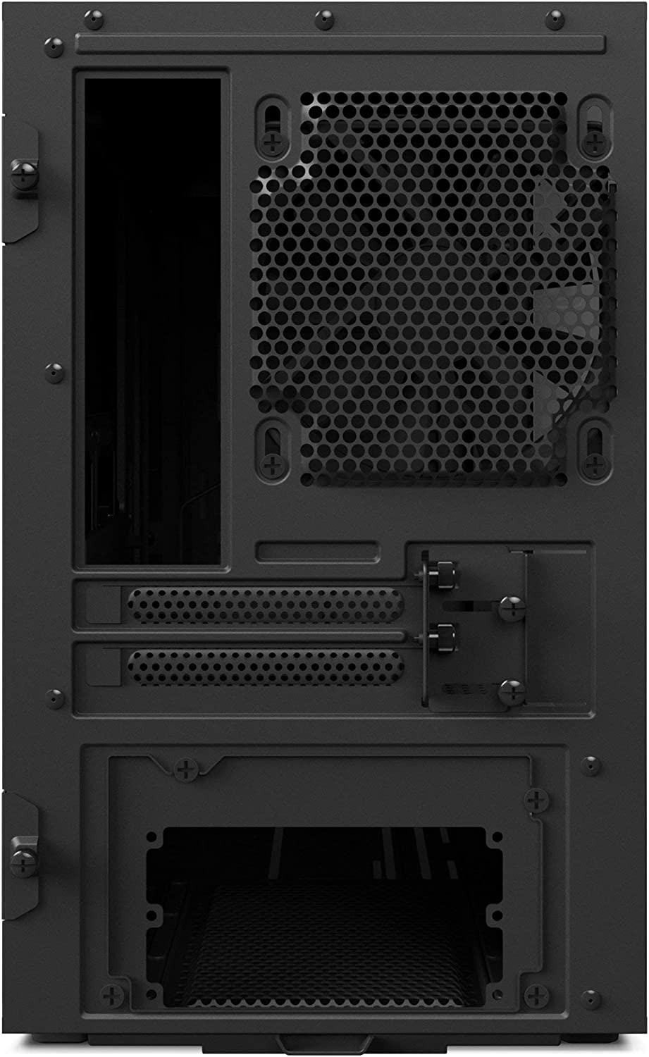 Tempered Glass Panel Black Mini-ITX PC Gaming Case Renewed Enhanced Cable Management System NZXT H200 Water Cooling Ready 2018 Model