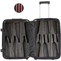 VinGardeValise Grande 05 12 Bottle Wine Travel Suitcase - Newest Model & Features