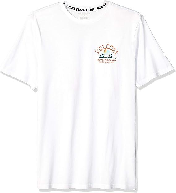 Volcom Hombre A5011903 Manga Corta Camisa: Amazon.es: Ropa y ...