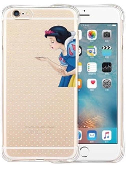 Phone Kandy® A prueba de choques princesa de Disney Anti colisión transparente claro de TPU Funda de silicona ultra fina y protector de la pantalla - ...