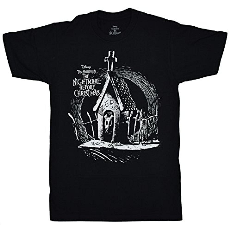 Disney Nightmare Before Christmas Zero My Dawg T-Shirt   Amazon.com