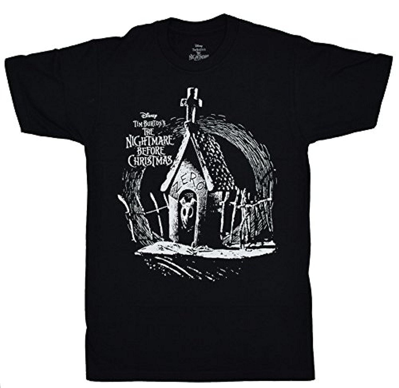 Nightmare Before Christmas Zero My Dawg T-shirt   Amazon.com