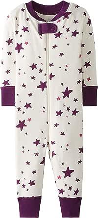 Moon and Back de Hanna Andersson - Pijama de una pieza sin pies hecho de algodón orgánico para bebé