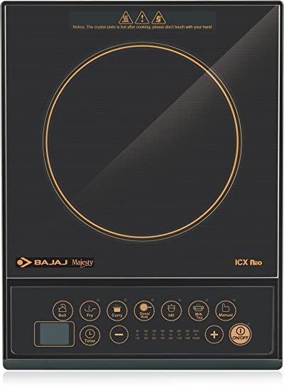 Bajaj Majesty ICX Neo Induction Cooktop (Black)