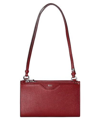 bedec44454e BOSS Damen Umhängetasche Taylor Mini Bag rot (74) 000  Amazon.de  Schuhe    Handtaschen