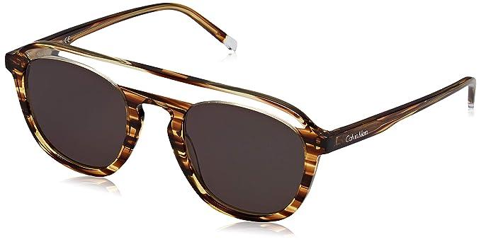 Calvin Klein Ck4357S 254 51 Gafas de Sol, Medium Horn ...