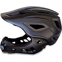 Casco de Bicicleta de montaña de Cara Completa: Casco de Bicicleta de Bici BMX y Bicicleta de montaña con Marcado CE…