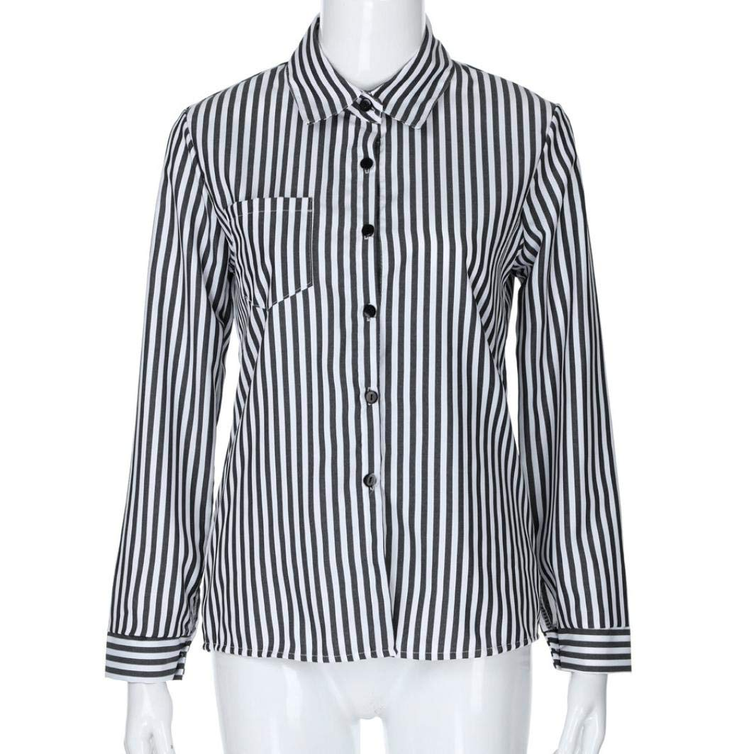 Clearance Women Tops LuluZanm Loose Blouse Casual T Shirt Fashon Striped Long Sleeve Tops: Amazon.com: Grocery & Gourmet Food