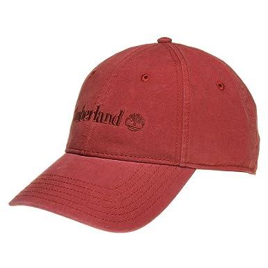 Gorra de béisbol logo bordado de Timberland - Ocre - Adjustable ...