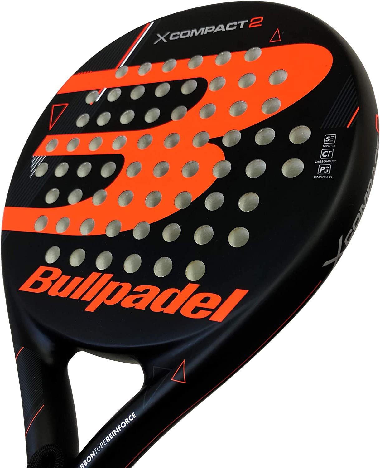 Bull padel X-Compact 2 Orange: Amazon.es: Deportes y aire libre