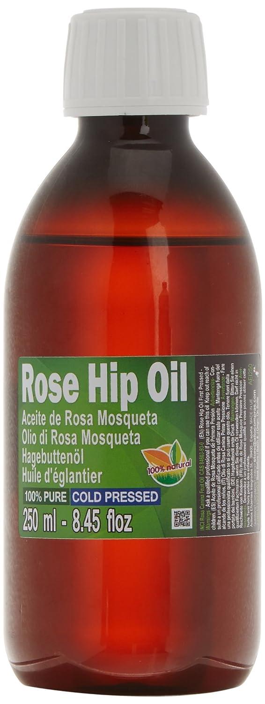 Aceite Rosa Mosqueta 100% Puro 250ml (un cuarto litro) Origen Chile - Primera prensada en frió, extra virgen -Color naranja brillante- Primera Calidad Mundial Patagonian