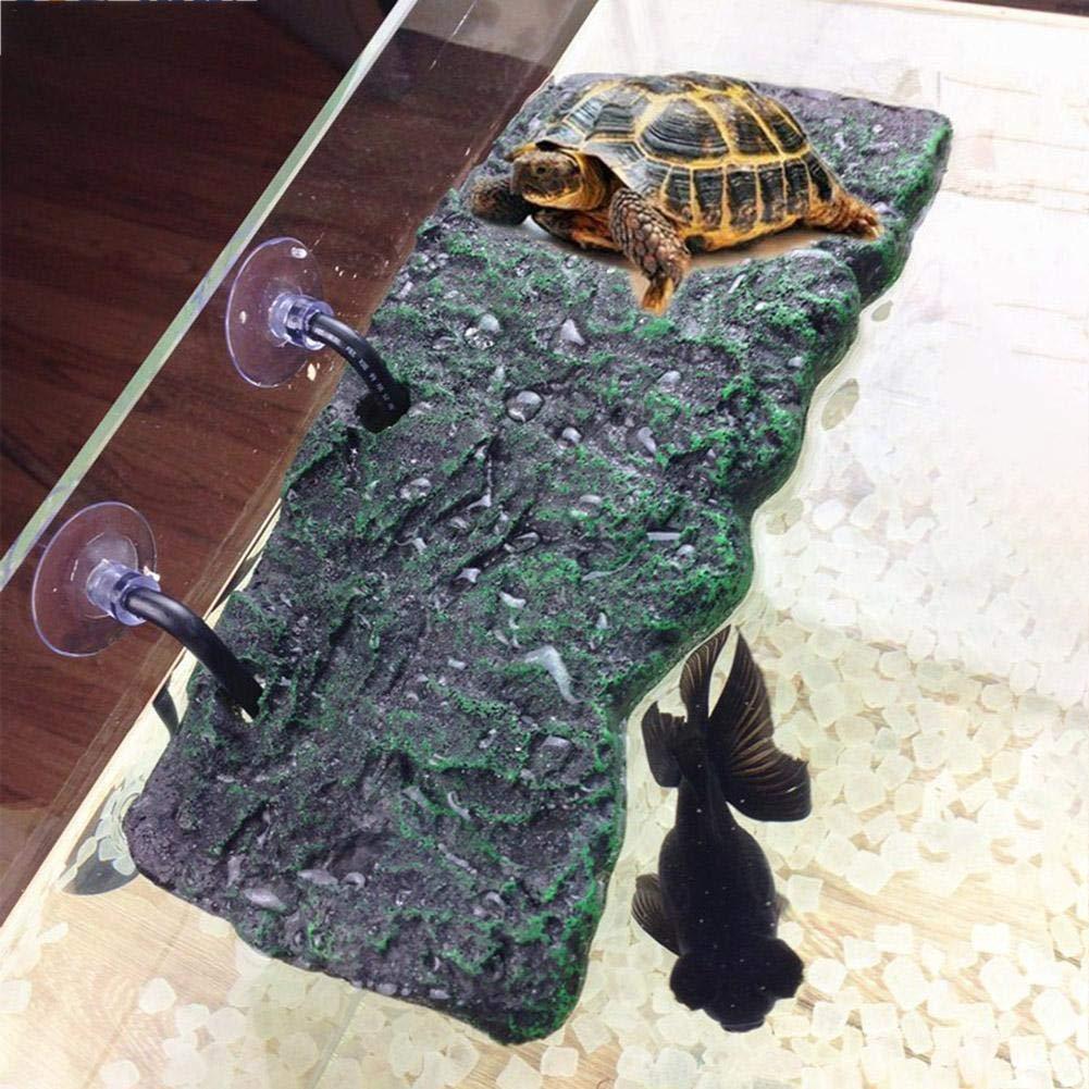 Bouder Ramo de Peces Tanque Flotante Isla Reptil Tortuga Plataforma de Secado para acuarios Accesorios: Amazon.es: Productos para mascotas