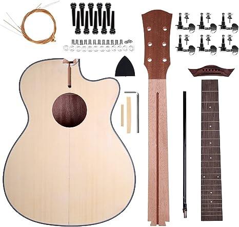Zimo Kits de guitarra para guitarra acústica Cuerdas de acero ...