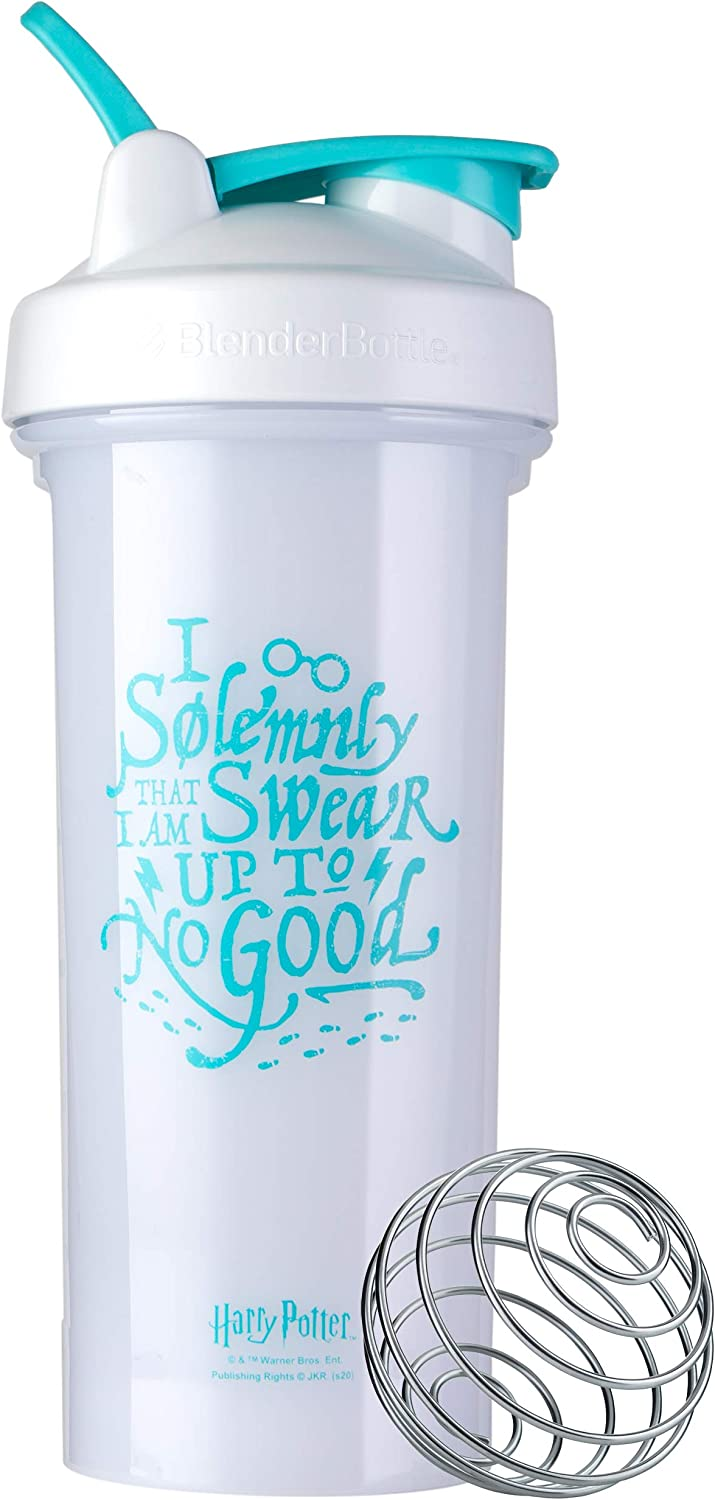 Blender Bottle Harry Potter Pro Series 28-Ounce Shaker Bottle, I Solemnly Swear