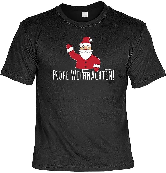 T Shirt Frohe Weihnachten Weihnachtsmann Lustiges Sprüche Shirt Für Weihnachten Und Die Adventszeit