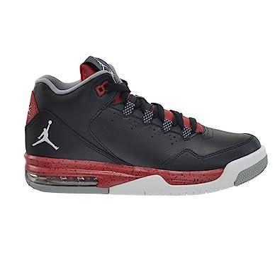 d34979eb74f30b Jordan Flight Origin 2 BG Big Kids Shoes Black White-Gym Red-Wolf