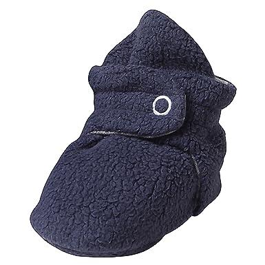 18c6770a6856 Amazon.com  Zutano Booties Unisex Cozie Fleece Baby Bootie Winter ...