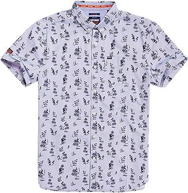 Superdry Premium Shoreditch Camisa Manga Corta: Amazon.es: Ropa y accesorios