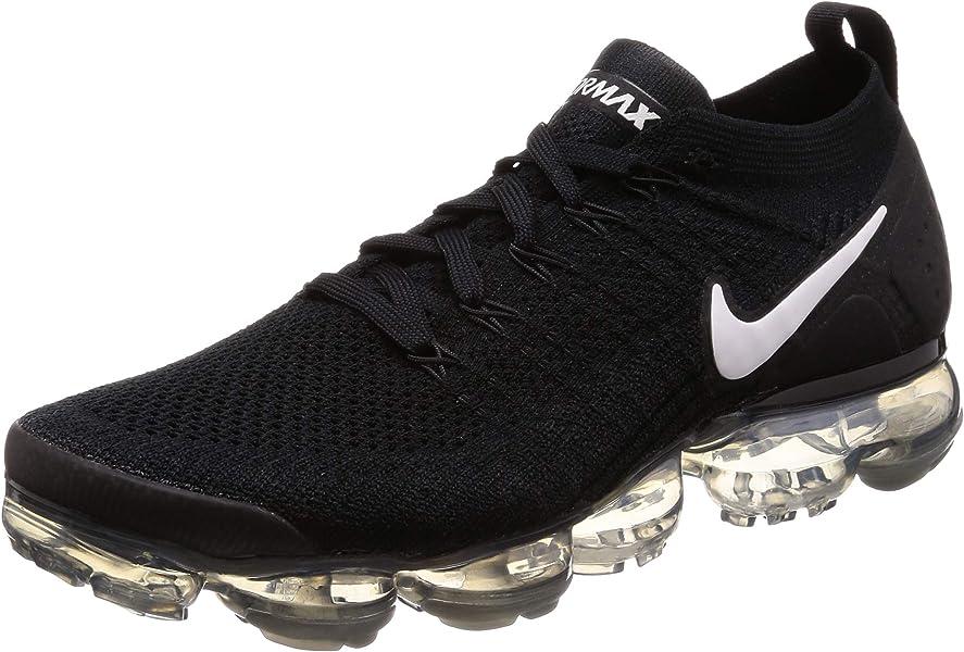 huge discount b5452 11a7d Nike Herren Air Vapormax Flyknit 2 Fitnessschuhe Mehrfarbig  (Black/White/Dark Grey/