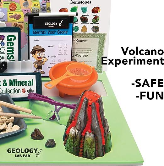 Grafix 2 en 1 GEO Science Sable Magique /& VOLCAN Experiment Educational Kit cadeau