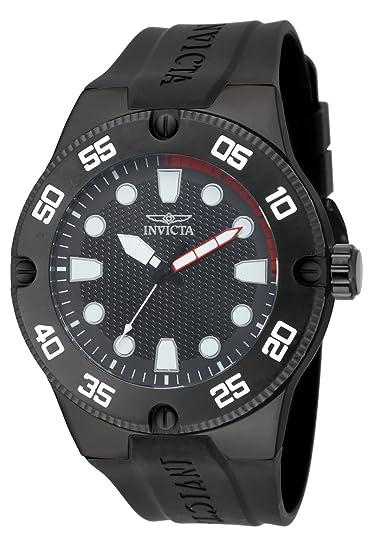 Invicta 18026 - Reloj de Cuarzo para Hombres, Color Negro: Amazon.es: Relojes