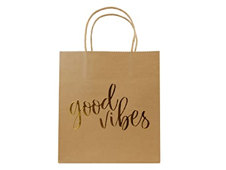 Amazon.com: Wedding Welcome Gift Bags for Hotel Guests Good Vibes ...
