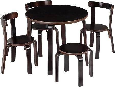 Niños mesa y sillas – SVAN jugar con Me Madera curvada para mesa ...