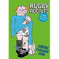 Rugby Addicts Gren's Official 2019 Calendar - A3 Wall Calendar