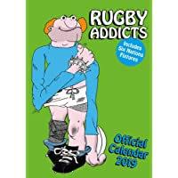 Rugby Addicts Gren's Official 2019 Calendar - A3 Wall Calend
