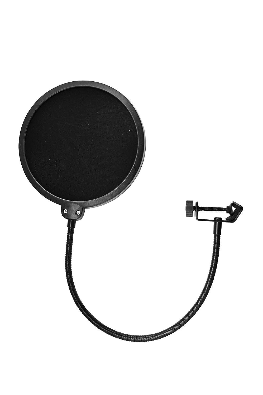 TIE anti pop Audio filtre pour Microphone Noir 19-90001