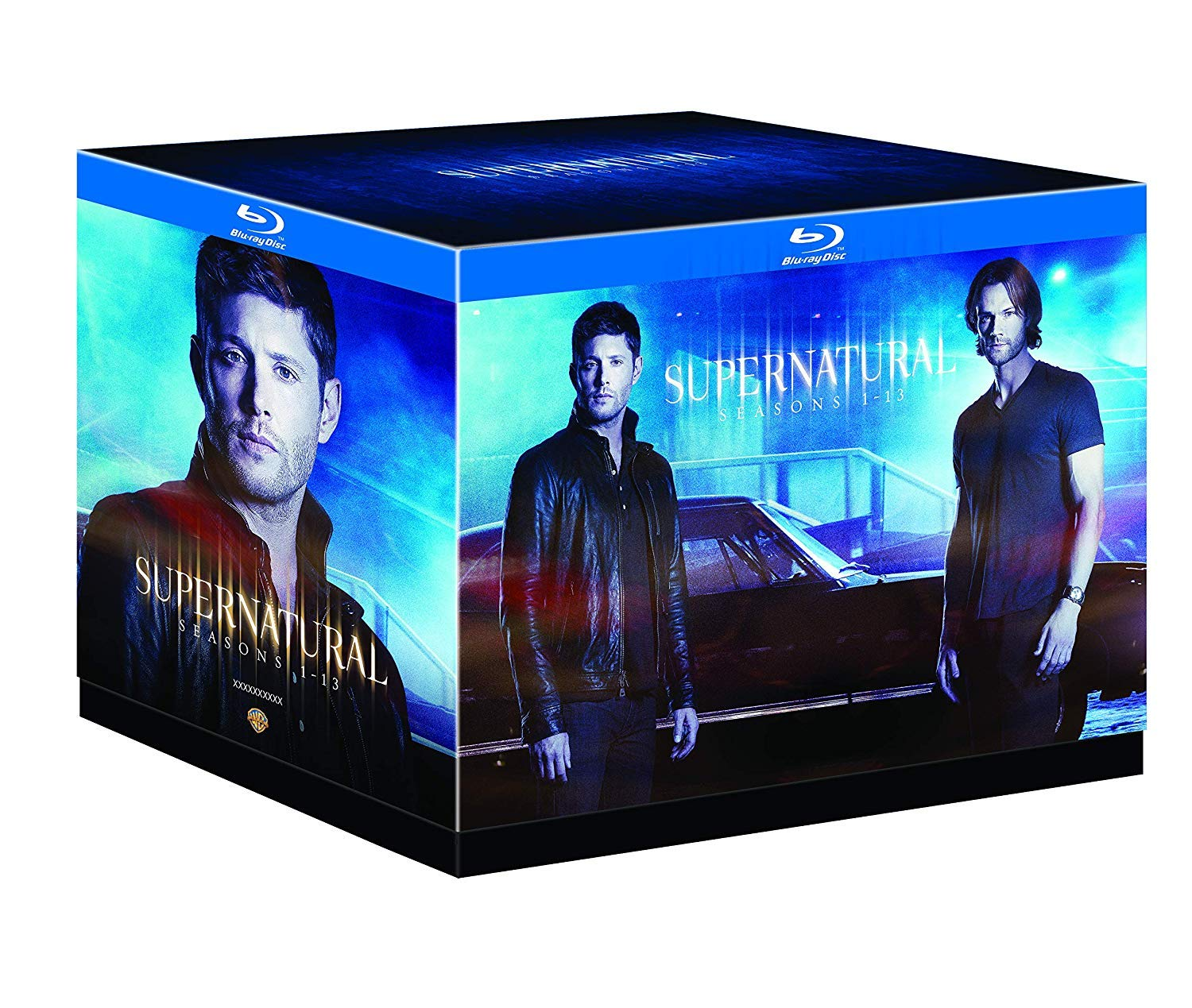 Supernatural: Season 1-13 [Blu-ray] Jared Padalecki Jensen Ackles Misha Collins Mark Sheppard