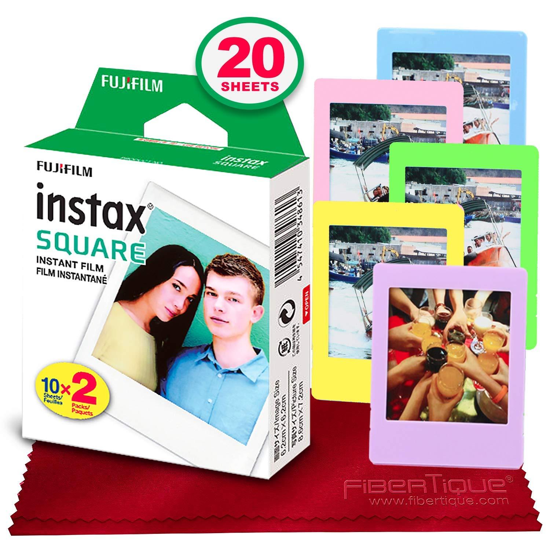 Fujifilm instax Square Instant Film (20 hojas)